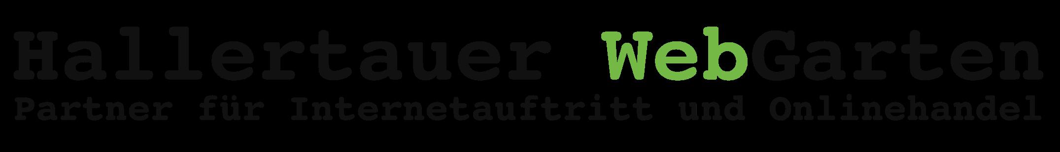 Hallertauer WebGarten Logo