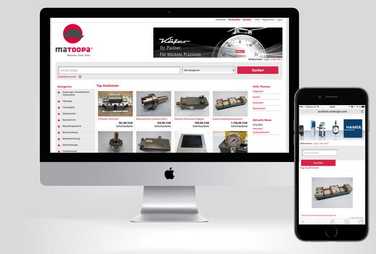 matoopa GmbH startet Versteigerungsplattform