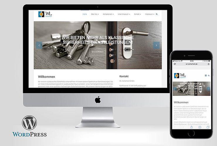 WL Sicherheit relauncht auf Basis von WordPress