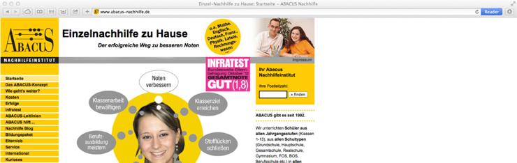 Mandantensystem für ABACUS Nachhilfeinstitut Deutschland