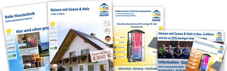 Hofer Haustechnik GmbH startet mit neuem Marketing-Material durch