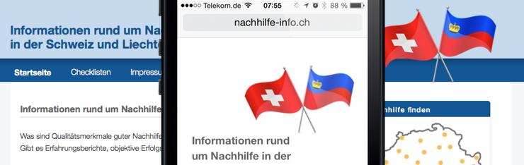 Abacus startet Informationsseite zu Nachhilfe für die Schweiz und Liechtenstein