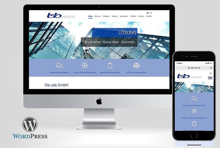 usb GmbH mit neuem Internetauftritt
