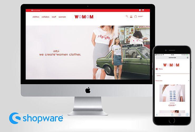 Womom startet Online Shop für trendige Kleidung